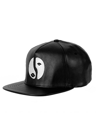 TWO FACE SNAPBACK(LEATHER)